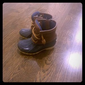 Sperry boots, boys size 7